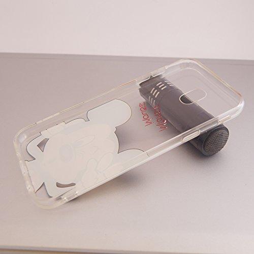 b44427982df Funda ultrafina transparente de silicona Vcomp, de poliuretano termoplástico  con diseño de dibujos animados de