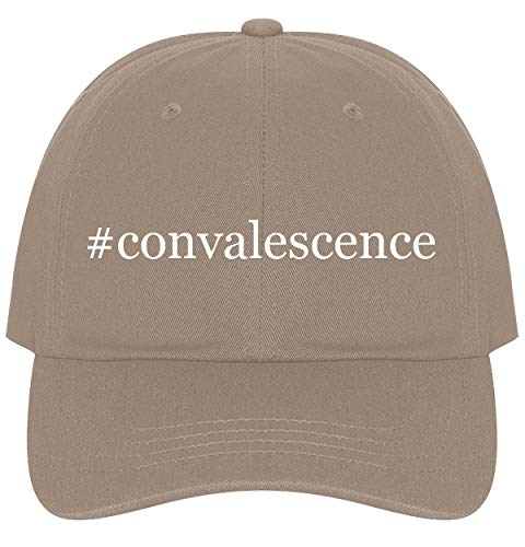 The Town Butler #Convalescence - A Nice Comfortable Adjustable Hashtag Dad Hat Cap, Khaki, One Size