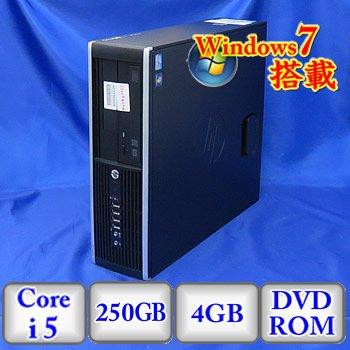 【ご予約品】 【中古デスクトップパソコン B00URBO24M】HP HP Compaq Elite Core 8300 SFF 250GB [QV996AV] -Windows7 Professional 32bit Core i5 3.2GHz 4GB 250GB DVD-ROM(A0225D006) B00URBO24M, パーツショップWAVE:ea25016c --- arbimovel.dominiotemporario.com