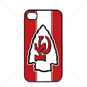 NFL American football Kansas City Chiefs Fans Case For Iphone 6 Plus (5.5 Inch) Cover PC Soft (Black)