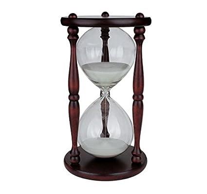 Koch 11000 Reloj De Arena De 1 Hora Pack De 1 Color Marrón