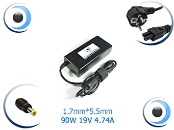 Visiodirect - Adaptador de corriente/cargador para ordenador portátil Hipro HP-A0904A3: Amazon.es: Electrónica