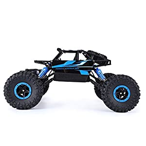 1/18 2.4GHz High-Speed 4WD Climbing RC Car, Rock Cars Radio Control Remote Control Electric Racing Car Truck Toy