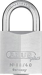 Abus 88/40 88 Series Solid Brass Padlock Keyed Alike, Plus Key