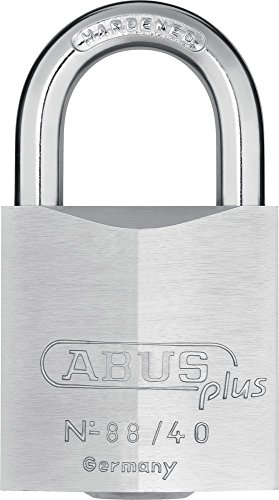 (Abus Plus 88 Series Brass Padlock 40mm, Keyed Different)