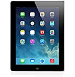 Apple iPad 4 WiFi + Cellular 64GB 24,6 cm(9,7 Zoll) LED-beleuchtete Multi-Touch-Display Tablet (Dual-core A6X mit quad-core graphics, Bluetooth 4.0 wireless technology) schwarz