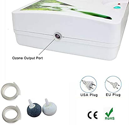 ZUZU Purificador de Aire Ozonizador Concentrador de oxígeno ...