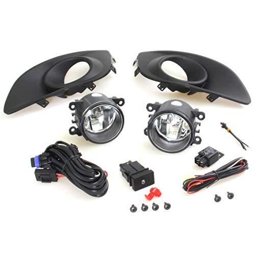 Original Front Bumper Style Spot Fog Light Lamp Kit 12V Set For 2010-2012 Suzuki Swift GLS Hatchback