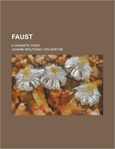Book Faust: a dramatic poem