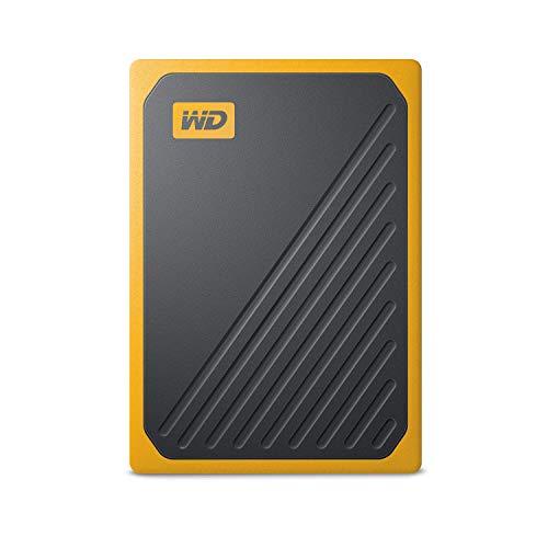 WD 500GB My Passport Go SSD Amber Portable External Storage, USB 3.0 - WDBMCG5000AYT-WESN by Western Digital (Image #1)