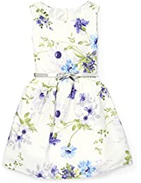 Big Girls' Off Shoulder Casual Dress,Simplywht 9087,L (10/12)