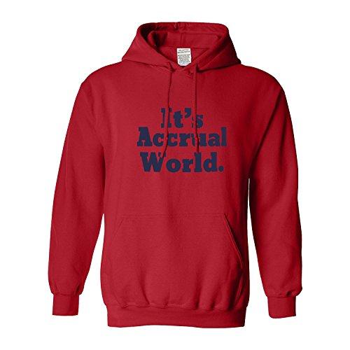 XiXiDiy Accountant Gifts It's accrual World Cpa Coworker Gag Gift Men's (Tide Halloween 2017)
