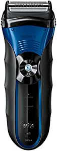 Braun 340 W&D Máquina de afeitar de láminas Recortadora Azul - Afeitadora (Máquina de afeitar de láminas, Azul, Níquel-metal hidruro (NiMH), 1 h, Inalámbrico, 45 min)