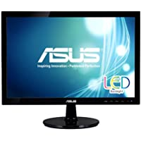 ASUS VS207T-P 19.5 HD+ 1600x900 DVI VGA Back-lit LED Monitor