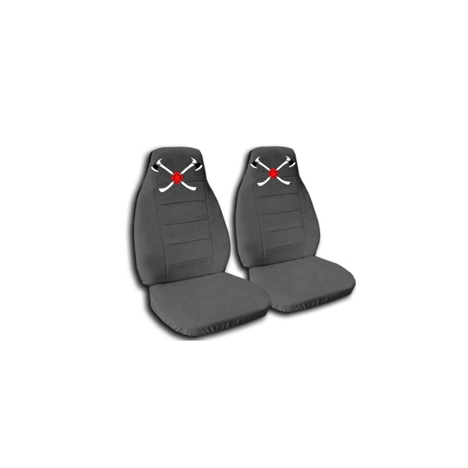 Charcoal AXE seat covers. 40/60 split seat covers for a Ford F 150 Super Crew cab. Center console included