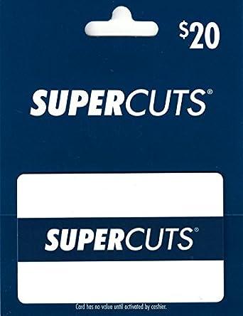 Amazon Supercuts 20 Gift Card Gift Cards