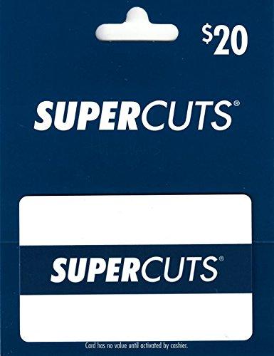 Supercuts  20 Gift Card