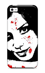 Yasmeen Afnan Shalhoub's Shop 6182448K93250441 Unique Design Iphone 5c Durable Tpu Case Cover Bloody Woman