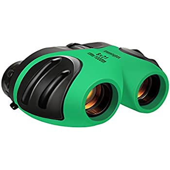 YYhappy childhood Compact Shock Proof Binocular for Kids Best Gifts-Birthday Gifts for Kids