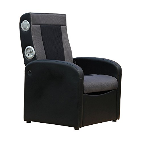 X Rocker Triple Flip 2.0 Storage Ottoman Sound Chair For Playing Video  Games Listening To Music