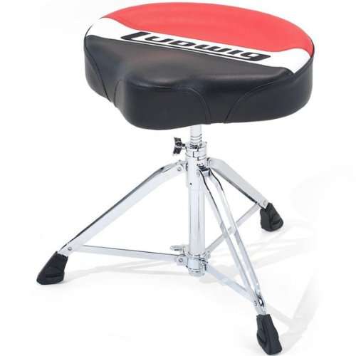 Ludwig Atlas Pro Saddle - Drum Throne Pro