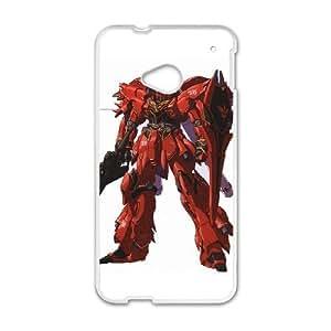 HTC One M7 White phone case Mobile Suit Gundam Birthday gift Best Xmas Gift for Boy QBI4385819