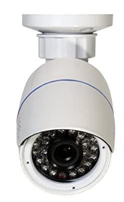 Q-See QTN8040D 3MP/1080P HD IP Varifocal Dome Security Camera with 165' Night Vision(Grey) by Q-See