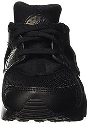 Kids\' Nike Huarache Run (PS) Shoe (704949-016) - BLACK/BLACK/BLACK (US 11.5C)