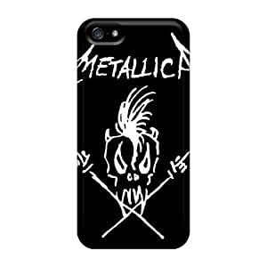 New Customized Design Metallica For Iphone 5/5s Cases Comfortable For Lovers And Friends For Christmas Gifts