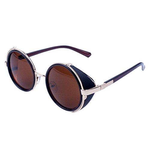 bfe73d9b7c SALLYDREAM Vidrios retro vintage Gafas unisex Gafas de sol de sombra Oval  Rapero de grunge Venta
