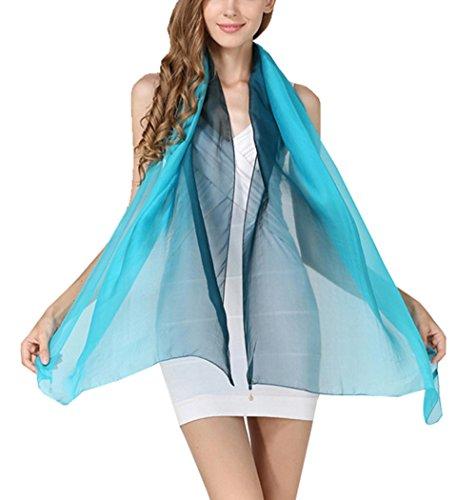 toda Pa 20 uelo 180x70cm largo color de mujer degradado bufanda moda para colores la 26 para seda 5 de wxngazqIz
