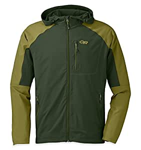 Outdoor Research Men's Ferrosi Hoody, Evergreen/Hops, Small