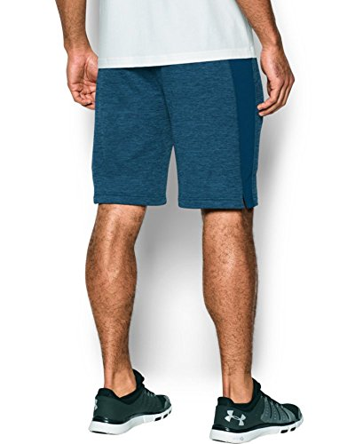 Under Armour Men's Tech Terry Shorts, Blackout Navy (997)/Silver, Small by Under Armour (Image #1)