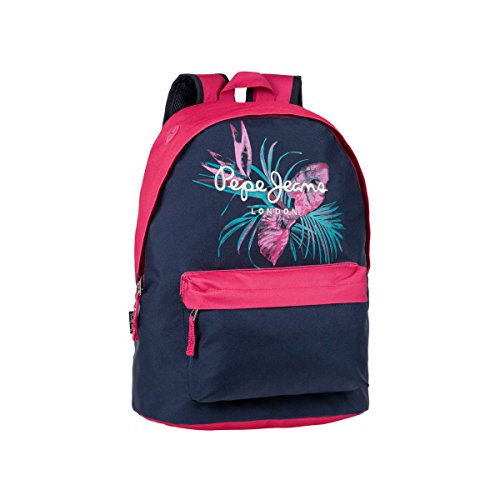 Pepe Jeans 6372351 Honey Mochila Escolar, 22.85 litros, Color Azul: Amazon.es: Equipaje