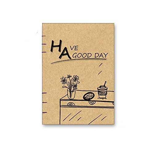 2017 gift christmas kraft hardcover Notebook, Sketchbook, Diary Handmade I Perfect Gift for Travel Journals, Sketching, Drawing,  More004