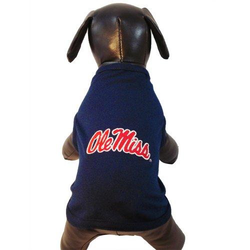 NCAA Ole Miss Rebels Cotton Lycra Dog Tank Top, XX-Large
