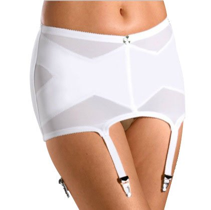 Cortland Intimates Style 2005 Garter Belt, 9X-Large White -  SKU17679v2