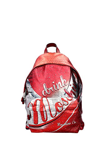 7A760680081112 Moschino Bags Backpack Unisex Leather Red