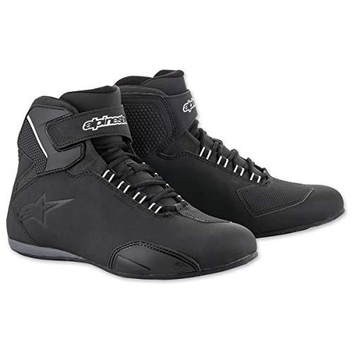 Waterproof Moto Sektor Shoe Black AlpinestarsBottes m0wN8nOv