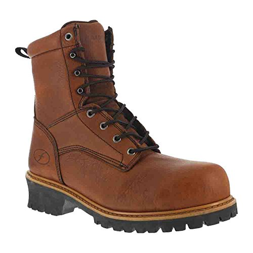 Florsheim Work Men's FE860 Steel-Toed Work Boot,Brown,6.5 D US by Florsheim