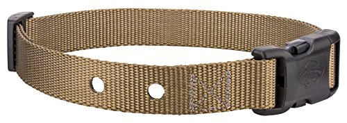25-Country Brook Design® Nylon Replacement Collar for Dog Fence Receivers - Coyote Tan