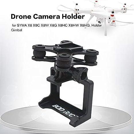 Justdodo RC Drone Camera Gimble Mount Set para SYMA X8 X8C X8W X8G ...