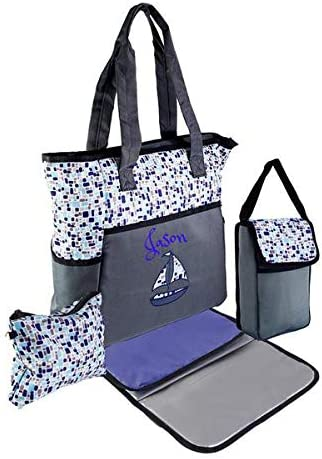 BG405 Custom Shoulder Bag Canvas Sling Tote Tote Bag for Her Baby Diaper Bag Tablet Tote Personalized Sling Tote Monogrammed Tote