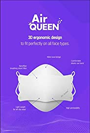 [Pack of 10] [AirQueen] 3-Layers NanoFilter Face Safety Mask [Individually Packaged] [Made in South Korea]