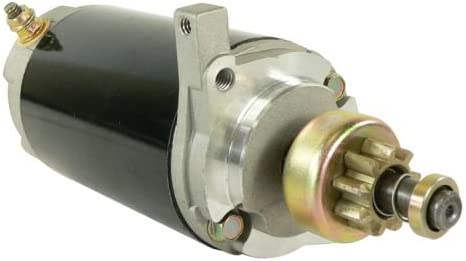 35Hp 40E 40Eh 40El 40Elh DB Electrical SAB0004 New Starter For Mercury Outboard Marine 35 40 50 Horsepower 50-30829 50-32403 5366 50-37345 50-38890A1 50-38890 50-38890A1 50-55601A2 50-55801A 110241