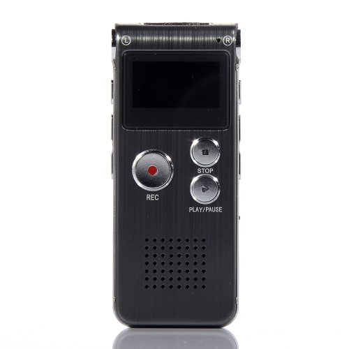 SODIAL(R) New USB Digital Voice Recorder Mp3 player 650Hr Dictaphone w/ U Disk 8GB