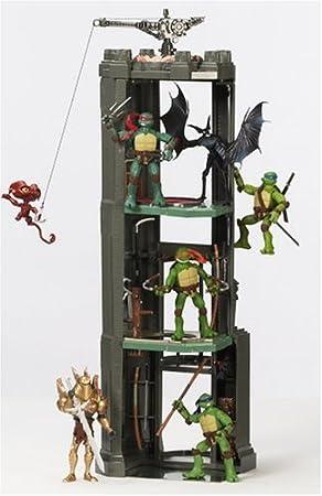 Amazon Com Teenage Mutant Ninja Turtles Movie Monster Tower