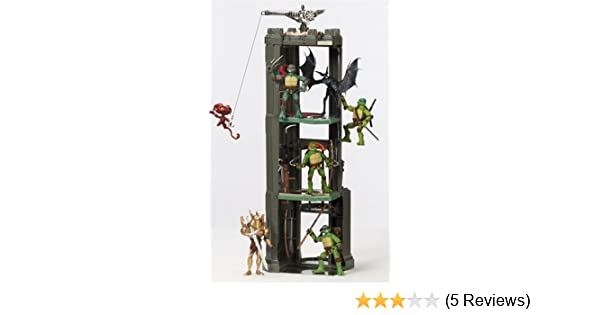 Teenage Mutant Ninja Turtles Movie Monster Tower Playset