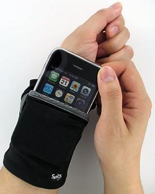 Sprigs Big Banjees Lightweight Polyspandex Stretch Travel Wrist Wallet