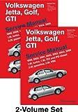 Volkswagen Jetta Golf GTI (A4) Service Manual( 1999 2000 2001 2002 2003 2004 2005( 1.8l Turbo 1.9l Tdi Diesel Pd Diesel 2.0l Gasoline 2.8l)[VOLKSWAGEN JETTA GOLF GTI (A4)][Hardcover]